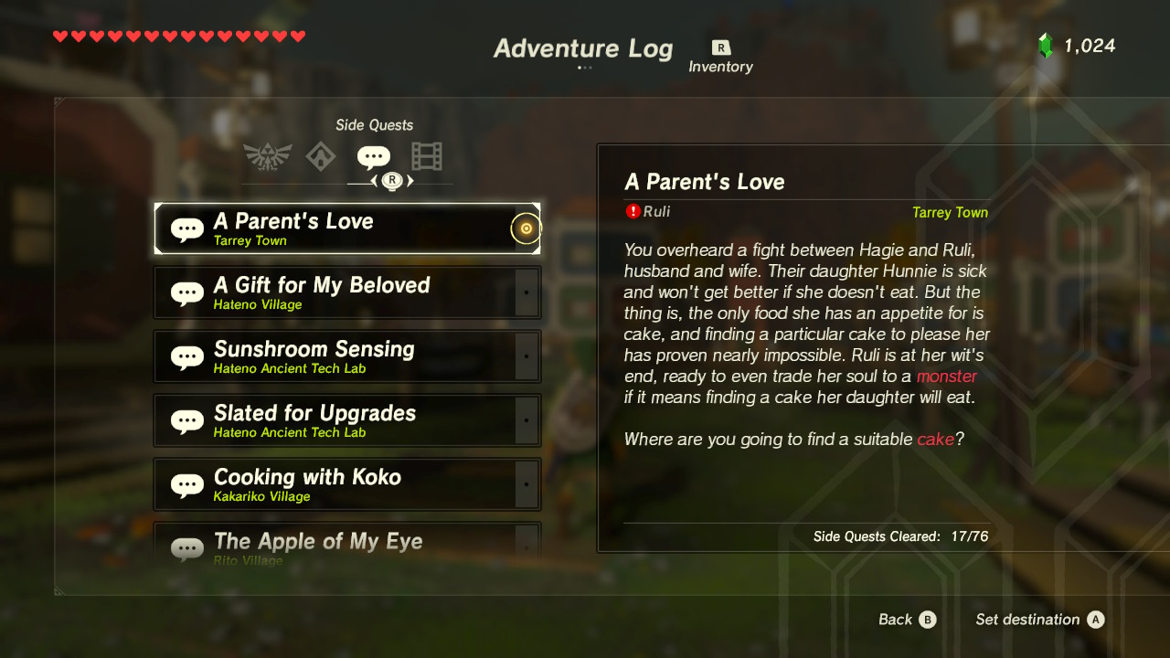 A Parent's Love | Zeldapedia | FANDOM powered by Wikia