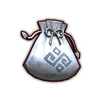 File:Hyrule Warriors Dropped Material Material Bag - Silver (Icon).png