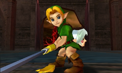 File:Hyrule Warriors Legends Young Link Embarassed Hero (Battle Intro).png