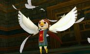 Hyrule Warriors Legends Medli Rito Wings (Victory Cutscene)