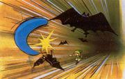 Link Using Boomerang (The Legend of Zelda)