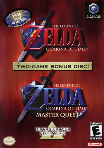 File:The Legend of Zelda - Ocarina of Time Master Quest (North America).png