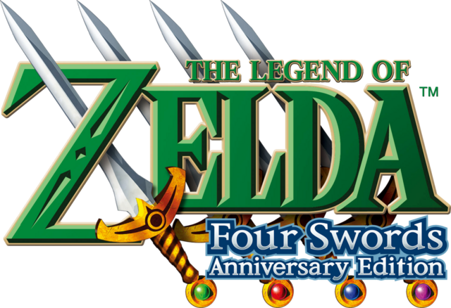 File:The Legend of Zelda - Four Swords Anniversary Edition (logo).png