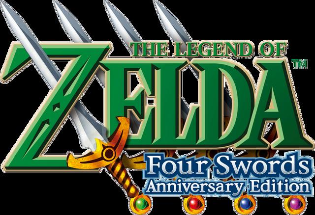 Arquivo:The Legend of Zelda - Four Swords Anniversary Edition (logo).png