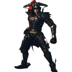 Hyrule Warriors Volga Standard Outfit (Lu Bu Recolor - Twilight DLC)