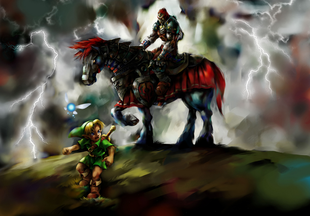 Arquivo:Young Link and Ganondorf.png