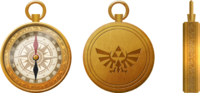 Hyrule Warriors Legends Artwork Linkle Compass (Artwork)