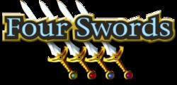 O logo de Four Swords