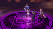 Hyrule Warriors The Sorceress of the Valley Cia's Magic Circle Trap