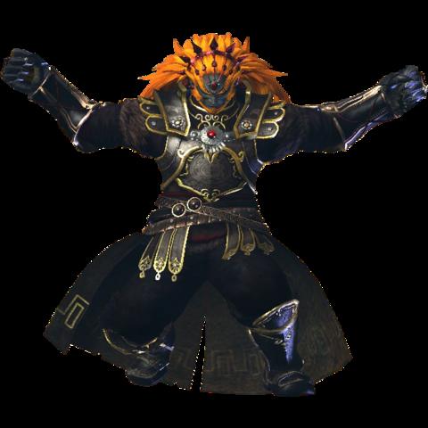 File:Hyrule Warriors Ganondorf Standard Armor (Demise Recolor - Twilight DLC).png