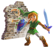 Link Artwork 2 (A Link Between Worlds)