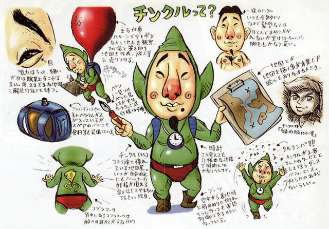File:Majora's Mask Artwork Tingle (Concept Art).png
