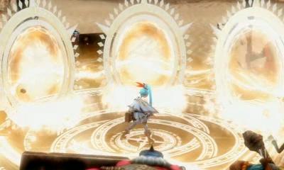 File:Hyrule Warriors Legends Enduring Resolve Lana summons her Gate of Souls (Cutscene).png