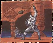Ball and Chain Trooper Artwork 2 (Link's Awakening)