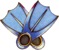 File:Zora's Flippers (A Link to the Past).png