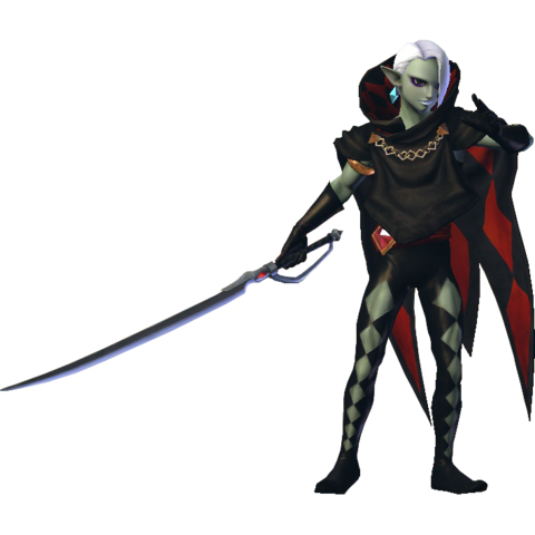 File:Hyrule Warriors Ghirahim Standard Outfit (Master Quest - Demise's Sword Recolor).png