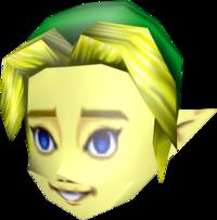 Majora's Mask Beta Link Mask (Render)