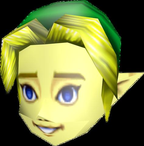 File:Majora's Mask Beta Link Mask (Render).png