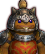 Hyrule Warriors Captains Goron Captain (Dialog Box Portrait)