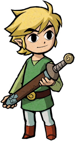 File:Link Artwork 4 (The Minish Cap).png