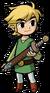 Link Artwork 4 (The Minish Cap)