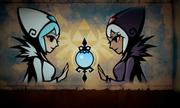 Hyrule Warriors Legends Wind Waker - Watchers of the Triforce Lana & Cia - Watchers of the Triforce (Stylized Cutscene)