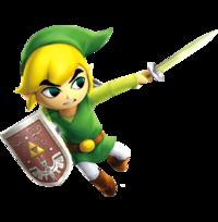 Toon Link Hero's Sword (Hyrule Warriors)