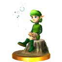 File:Saria Trophy (Super Smash Bros.).png