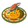 Breath of the Wild Food Dish (Omelets) Crab Omelet with Rice (Icon).png