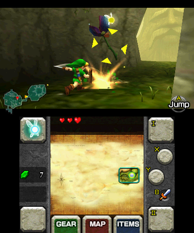 File:Gameplay (Ocarina of Time 3D).png