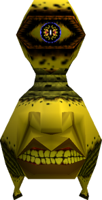 A Beamos from Ocarina of Time