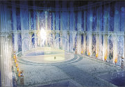 Hyrule Warriors Locations Hyrule Field - Fairy Fountain (Concept Art)