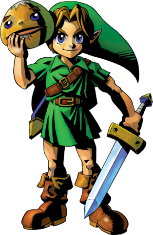 File:Link Artwork 1 (Majora's Mask).png