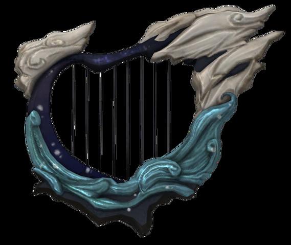 File:Hyrule Warriors Typhoon Harp (Render).png