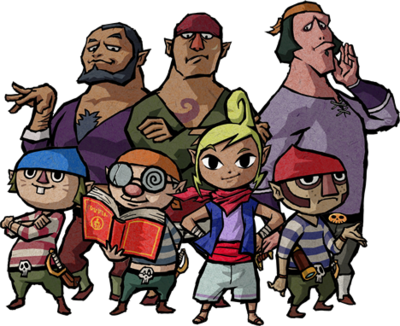 Tetra and Pirates