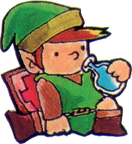 File:Link Drinking Life Potion.png
