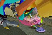 Link and Zelda Defeating Malladus