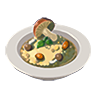 Breath of the Wild Food Dish (Risotto) Mushroom Risotto (Icon).png