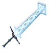Breath of the Wild Elemental Swords (Ice) Great Frostblade (Icon).png