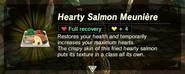 BotW Hearty Salmon Meuniere