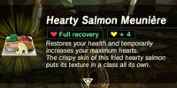 Hearty Salmon Meunière