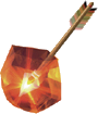 File:Fire Arrow (Ocarina of Time and Majora's Mask).png