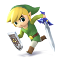 Toon Link (SSB 3DS & Wii U)