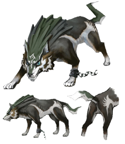 File:Twilight Princess Artwork Wolf Link (Concept Artwork).png