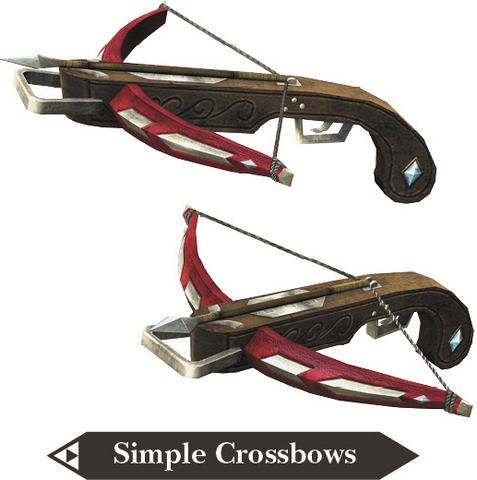 File:Hyrule Warriors Legends Crossbows Simple Crossbows (Render).png