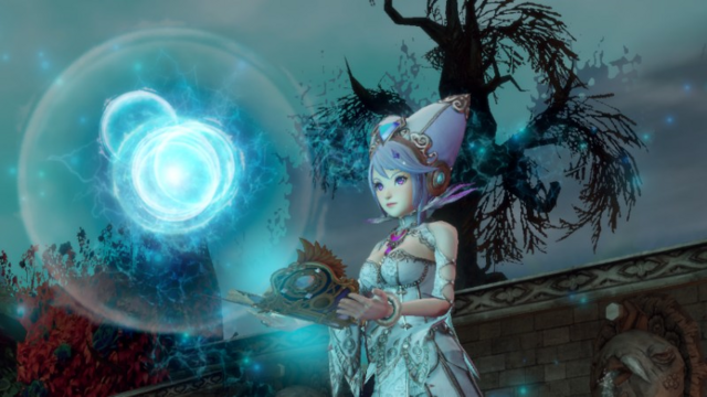 File:Hyrule Warriors Book of Sorcery Sorceress Tome (Victory Cutscene O).png