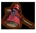 Hyrule Warriors Hammer Megaton Hammer (Level 3 Hammer)