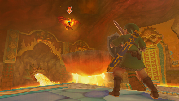 File:Fire Keese (Skyward Sword).png
