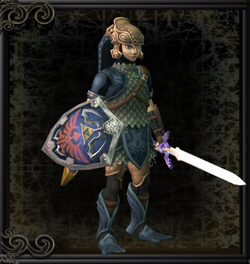 Link Wearing Zora Armor.png
