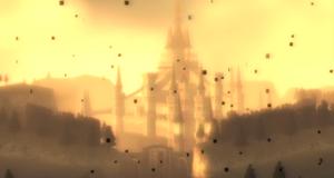 Hyrule Castle in Twilight